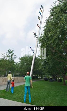 Texas Dallas Nasher Sculpture Center - Stock Photo