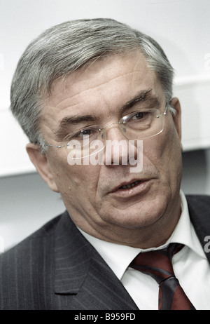 Chairman of the Russian Pension Fund Gennady Batanov - Stock Photo