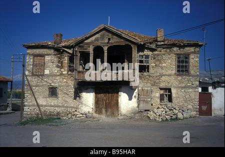 old Ottoman village house Anatolia Turkey - Stock Photo