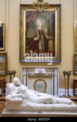United Kingdom, Liverpool area, Wirral, Port Sunlight Village, Lady Lever Art Gallery - Stock Photo