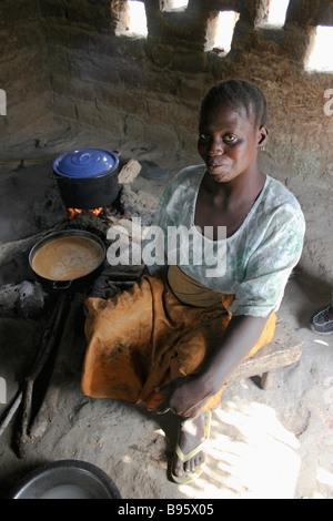 GAMBIA Western Gambia Tanji - Stock Photo