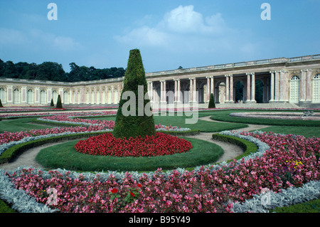FRANCE Ile de France Versailles Palace Grand Trianon and Gardens of Louis XIII dating from the 17th Century