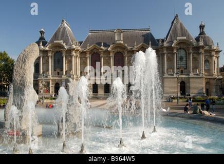 Le Palais des Beaux Arts, Lille, France - Stock Photo