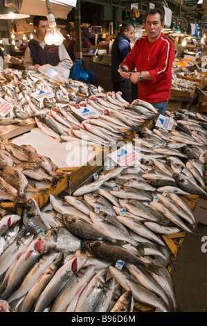 Varvakeios market the central market of athens greece for Central fish market