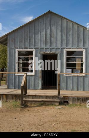 The Living Historic Village Museum in Phoenix Arizona, USA - Stock Photo
