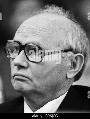 Chairman of the State Security Committee KGB Komitet Gosudarstvennoy Bezopasnosti of the USSR Vladimir Kryuchkov - Stock Photo