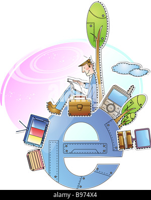 Electronic Business - Stock Photo