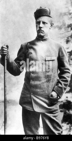 FRIDTJOF NANSEN - Norwegian zoologist and Artic explorer 1861 1930 - Stock Photo