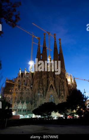 La Sagrada Familia Barcelona Spain - Stock Photo