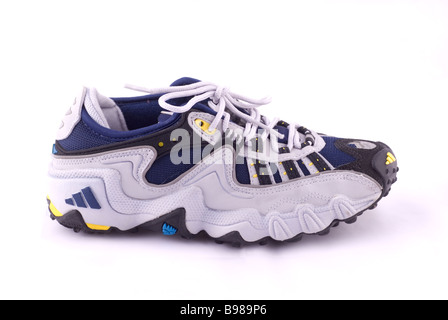 Running shoes cutout on a white background - Stock Photo
