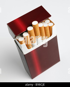 Packet of Cigarettes - Stock Photo