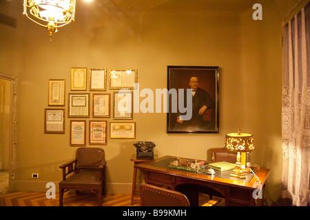the apartment inside casa mila  la pedrera  by gaudi Spain Living 1975 spain inspired living room