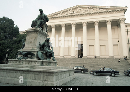 The National Museum in Budapest - Stock Photo