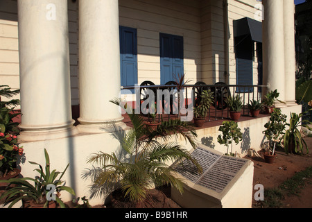India Tamil Nadu Chennai Madras Fort St George Fort Museum - Stock Photo