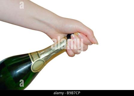 Sekt sparkling wine 02 - Stock Photo