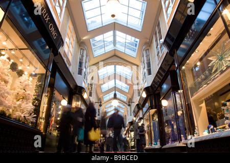 Burlington Arcade, Piccadilly, London, England - Stock Photo