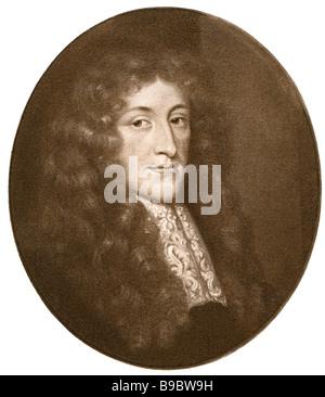 Anthony Ashley-Cooper, 1st Earl of Shaftesbury 1621 1683 English politician - Stock Photo