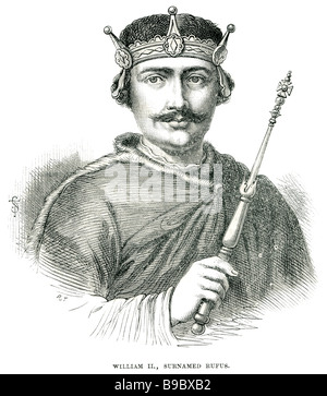 William II 1056 1100 Rufus King of England Conqueror - Stock Photo