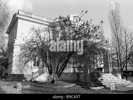 Writer Mikhail Sholokhov s house - Stock Photo