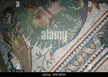 Turkey, Istanbul, Great Palace Mosaic Museum, Roman Mosaic ...
