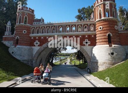 The Figured Bridge 1776 1778 architector Vasily Bazhenov - Stock Photo