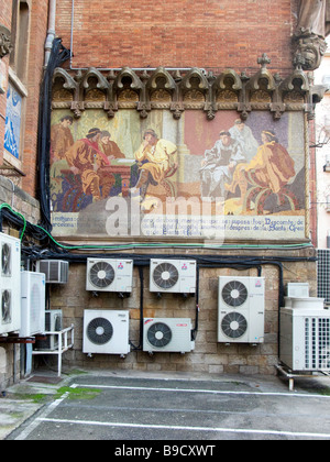 Air conditioning unit stock photo royalty free image for Air conditionn mural