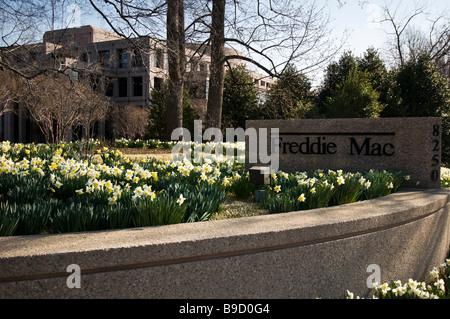The Freddie Mac complex in McLean Virginia near Washington DC. - Stock Photo