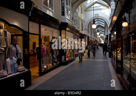 Shops in Burlington Arcade Piccadilly London England - Stock Photo