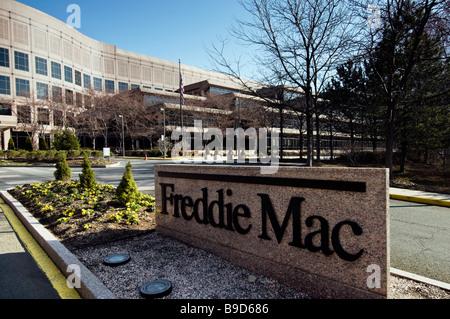 The Freddie Mac headquarters complex in McLean Virginia near Washington DC. - Stock Photo