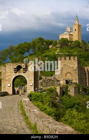Tsarevets fortress Veliko Tarnovo  Bulgaria Stock Photo