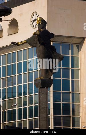 Sveta Nedelya square Bulgaria Sofia - Stock Photo