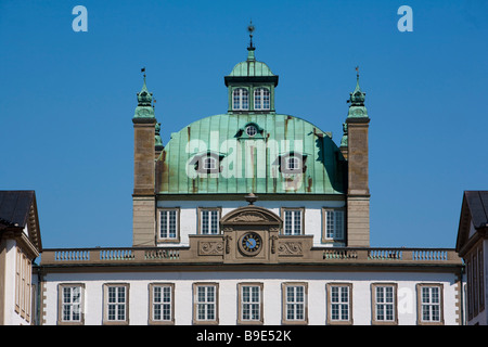 Fredensborg castle Fredensborg Zealand Denmark - Stock Photo