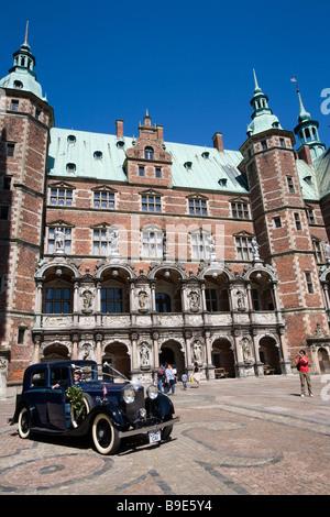 Denmark Helsingor Frederiksborg castle - Stock Photo