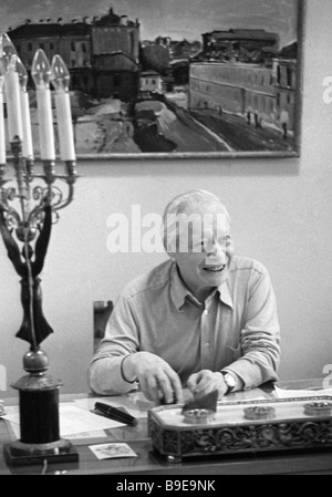 Director and chief producer of the State Central Puppet Theater the USSR People s Artist Sergei Obraztsov 1901 1992 - Stock Photo