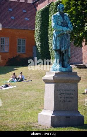 Denmark Odense H C Andersen Haven - Stock Photo