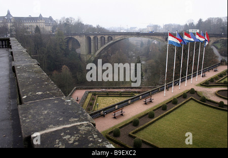 The Mullerthal in Luxembourg - Stock Photo
