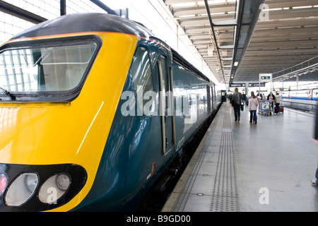 St Pancras International Train Station - Stock Photo