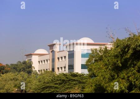 India Hyderabad Hi Tech city - Stock Photo