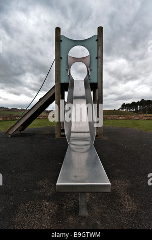 Children's slide - Stock Photo