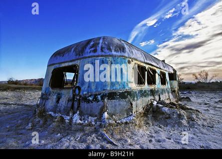 Abandoned Mobile Home Salton Sea California