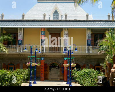 Blue Penny Museum Port Louis Mauritius - Stock Photo