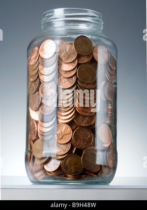 pennies - Stock Photo