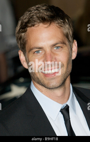 Paul Walker fast and furious premier red carpet - Stock Photo