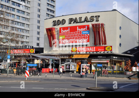 Zoo Palast cinema during the Berlinale, Berlin, Germany, Europe - Stock Photo