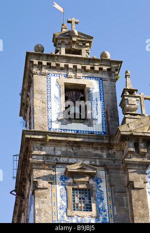 Igreja de Santo Ildefonso Church, Parca da Batalha, Porto, UNESCO World Heritage Site, Portugal, Europe - Stock Photo