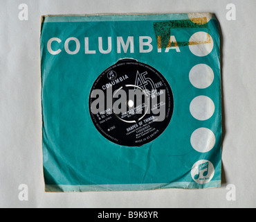 Vinyl record, 'Shapes of Things' by The Yardbirds - Stock Photo