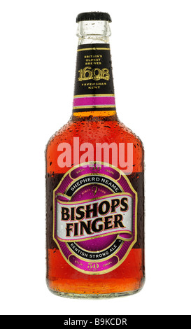 Bottle of Bishops Finger - Stock Photo
