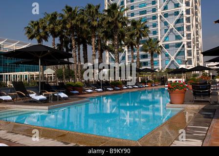 Hotel Arts Barcelona Carrer De La Marina Barcelona Catalonia Bar Stock Photo Royalty Free