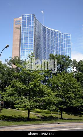 The World Intellectual Property Organization (WIPO), Geneva, Switzerland - Stock Photo