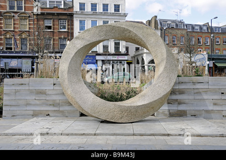 War Memorial Islington Green London England UK - Stock Photo